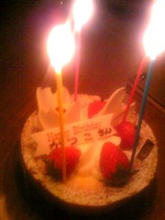 誕生日です♪
