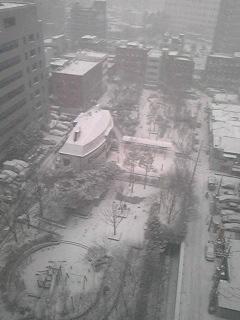 ソウルは雪です