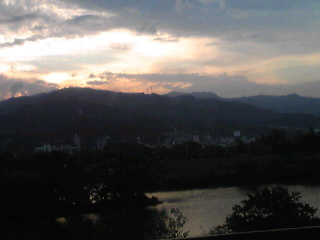広島の夕焼け、その2
