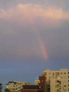 虹だっ(^O^)/