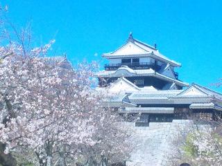 松山城です