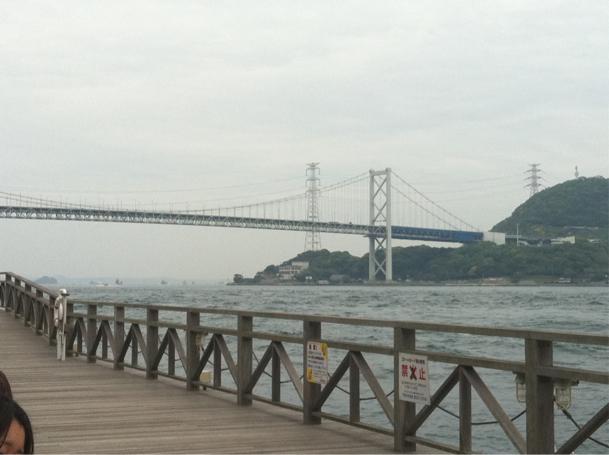 関門海峡です