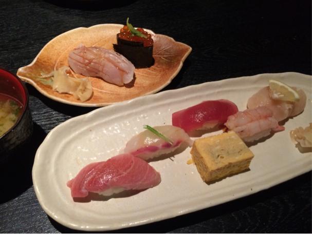 築地のお寿司ランチ